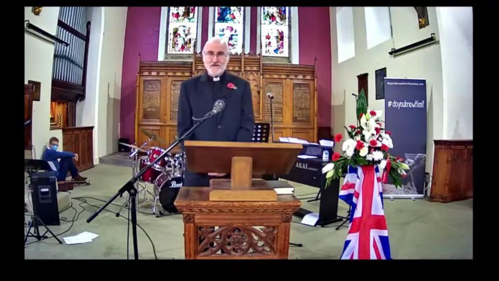 Screenshot_2020-11-12 Remembrance Sunday 8th November 2020 Parish of Holcombe Hawkshaw Live Stream